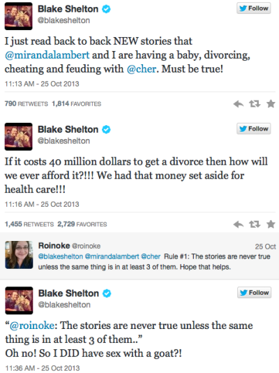 Blakes Tweets