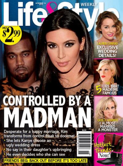 Kim Kardashian: Under Kanye's Control!