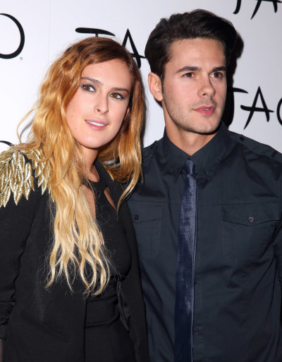 Jayson Blair with Rumer Willis
