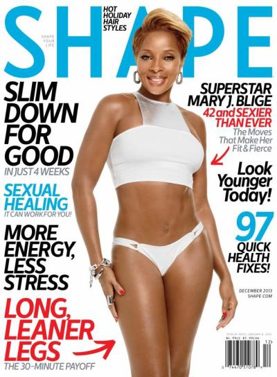 Mary J. Blige Shape Cover