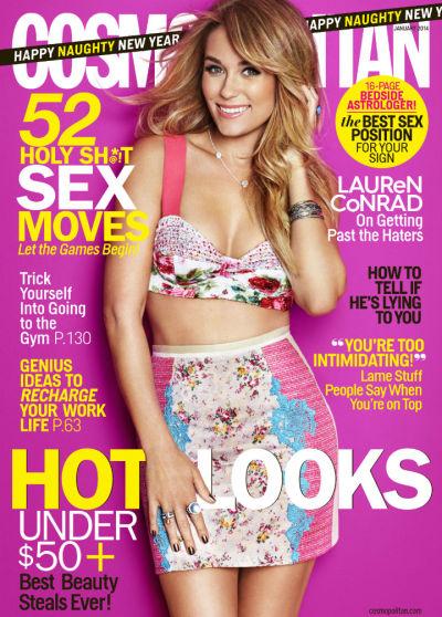 Lauren Conrad Cosmo Cover