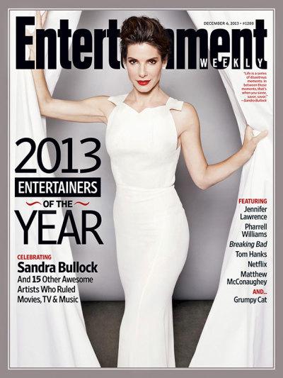 Sandra Bullock EW Cover