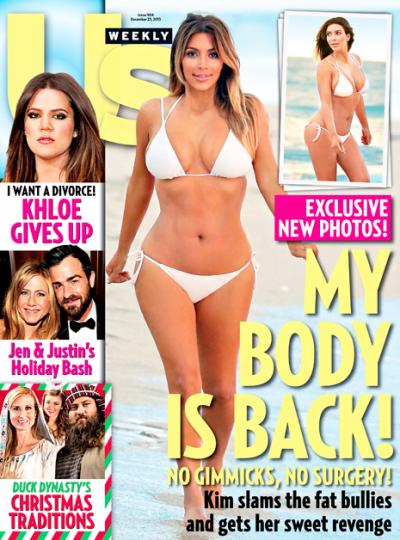 Kim Kardashian Bikini Cover Pic