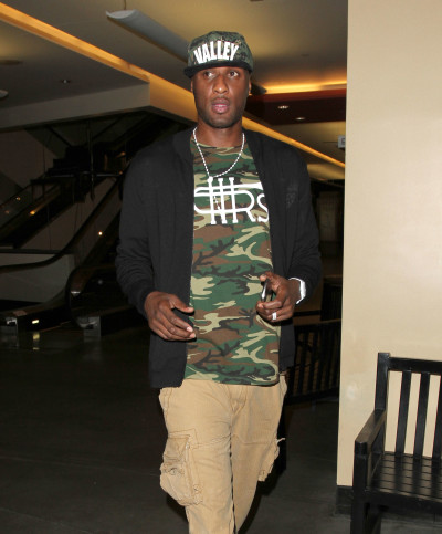 Lamar Odom in Camouflage