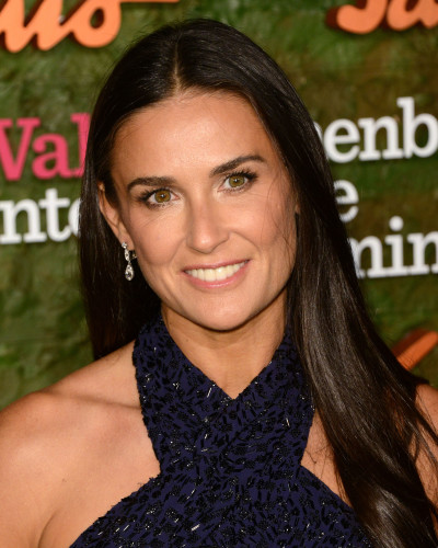 Demi Moore Close Up