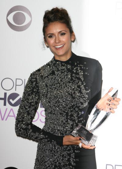 Nina Dobrev Wins!