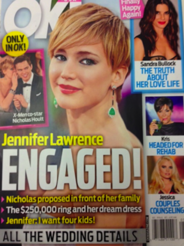 Jennifer Lawrence Engaged?