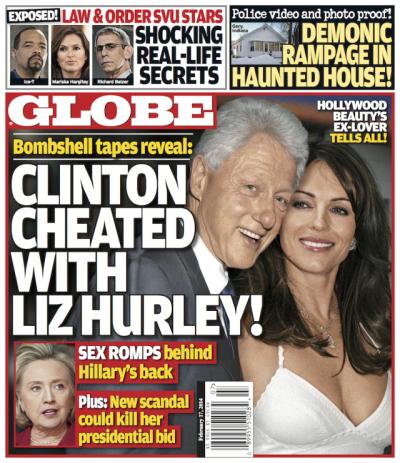 Bill Clinton-Elizabeth Hurley Affair