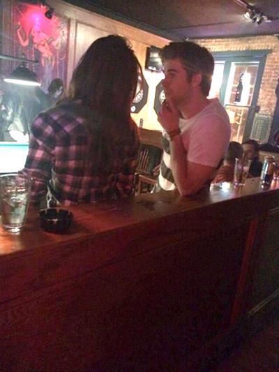 Nina Dobrev and Liam Hemsworth