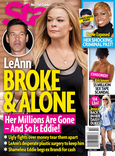 LeAnn Rimes: Star Magazine Cover