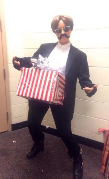 Demi Lovato Dick in a Box Pic