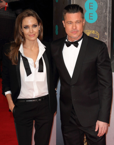 Angelina Jolie and Brad Pitt: BAFTA Awards