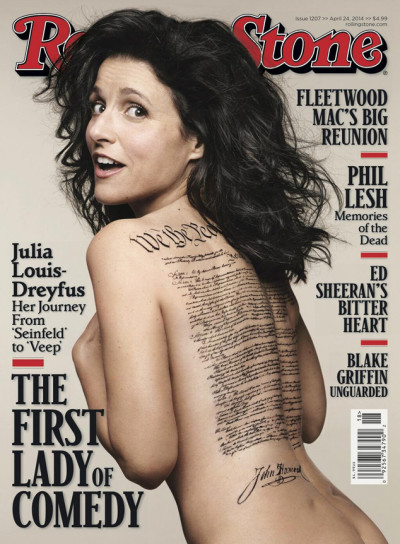 Julia Louis-Dreyfus Nude