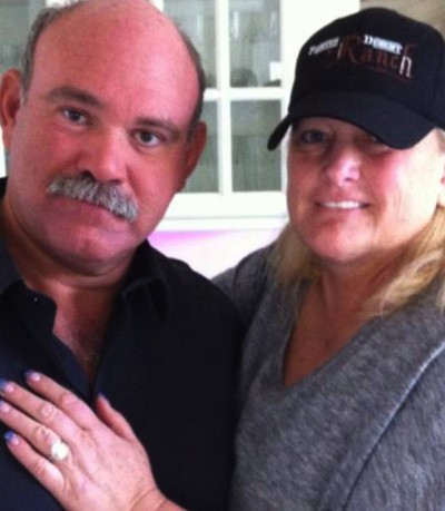 Debbie Rowe and Marc Schaffel
