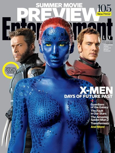 Jennifer Lawrence, Hugh Jackman, Michael Fassbender Photo