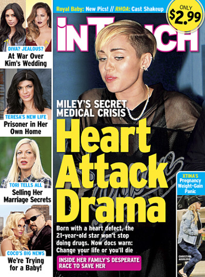 Miley Cyrus Heart Defect: Is Singer on Verge of Death?!?