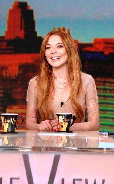 Lindsay Lohan on The View