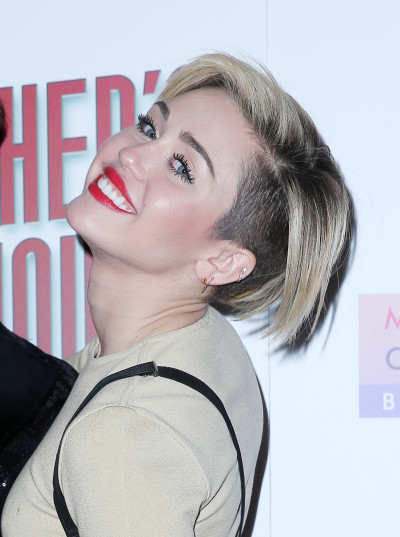 Miley Cyrus Short Hair Photo