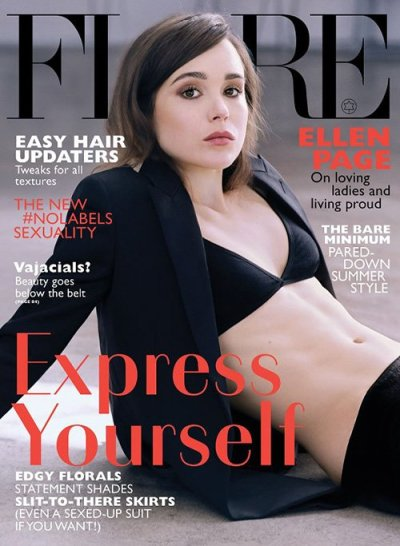 Ellen Page Topless Photo
