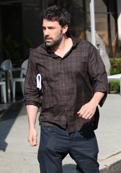 Ben Affleck Looks Rough