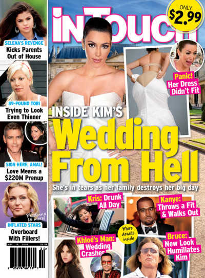 Kim Kardashian Wedding Nightmare