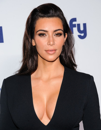 Kim Kardashian with Breasts