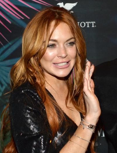 Lindsay Lohan: Looking Good at Cannes!
