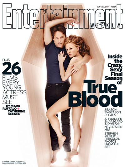 Stephen Moyer, Anna Paquin EW Cover