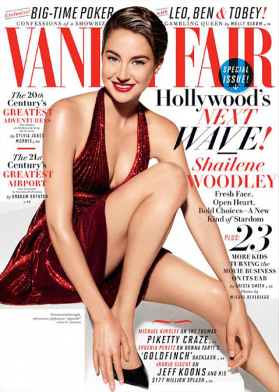 Shailene Woodley Vanity Fair Cover