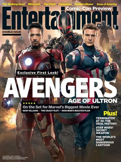 Avengers: Age of Ultron Photo!