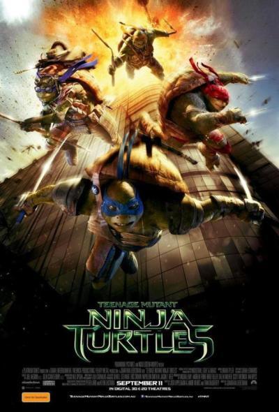 Ninja Turtles 9/11 Poster