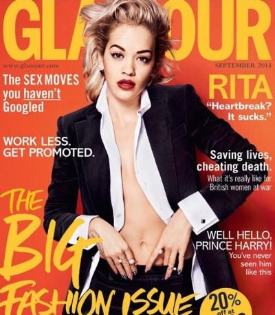 Rita Ora Glamour Cover
