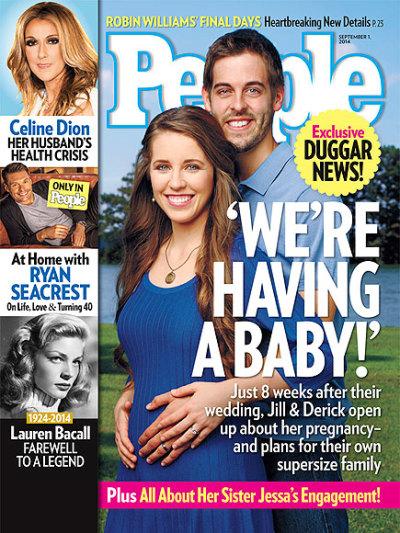 Jill Duggar Expecting!