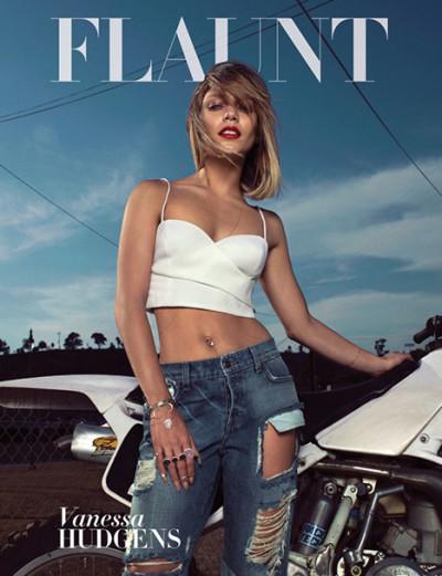 Vanessa Hudgens Flaunt Cover