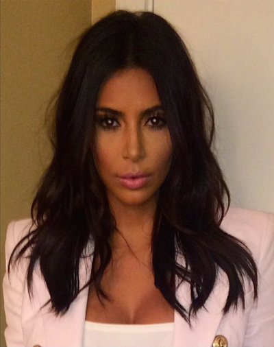 Kim Kardashian Haircut Photo