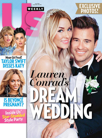 Lauren Conrad Wedding Photo