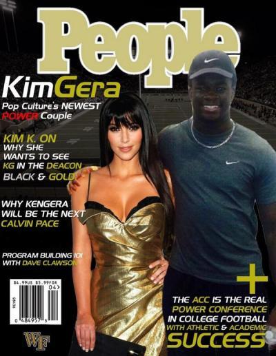 Fake Kim Kardashian Cover