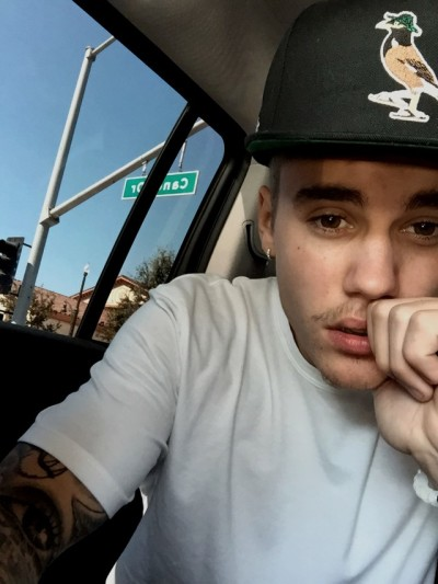Justin Bieber and His Mustache
