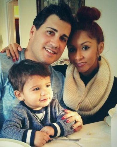 Snooki, Jionni and Lorenzo