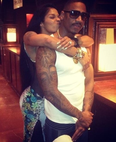 Joseline Hernandez and Stevie J Photo