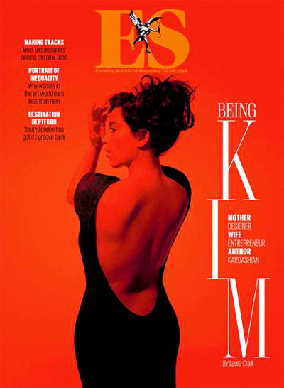 Kim Kardashian Magazine Cover