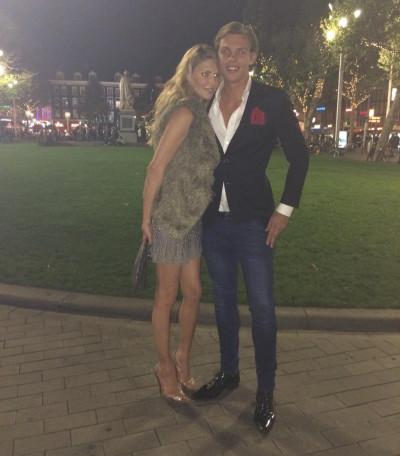 Brandi Glanville and Boyfriend