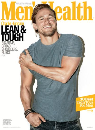 Charlie Hunnam Men's Health Cover
