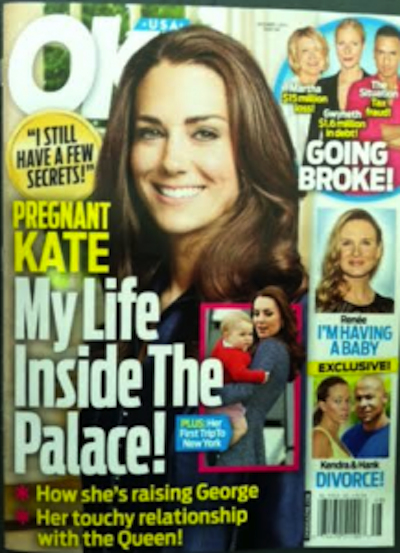 Kate Middleton OK! Cover