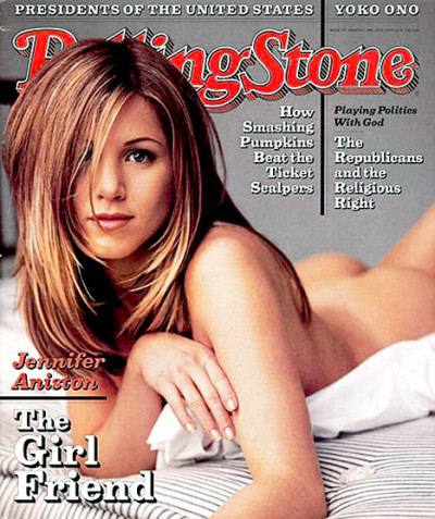 Jennifer Aniston Rolling Stone Cover