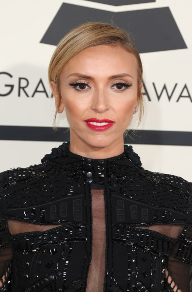 Giuliana Rancic at the 2015 Grammys