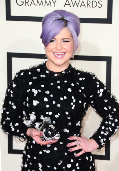 Kelly Osbourne at the 2015 Grammys