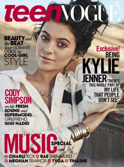 Kylie Jenner Teen Vogue Cover