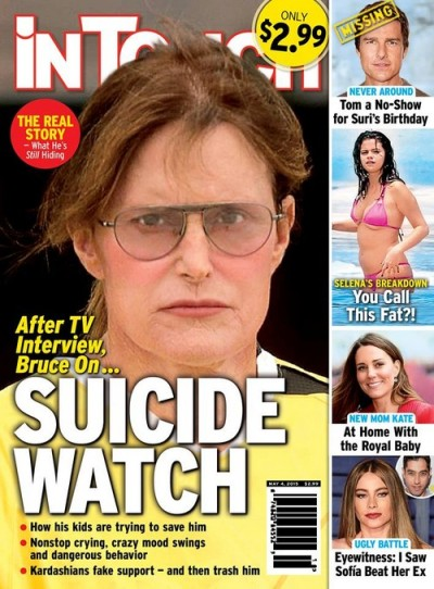 Bruce Jenner: On Suicide Watch Following Diane Sawyer ... Daily News Bruce Jenner In A Dress Photos