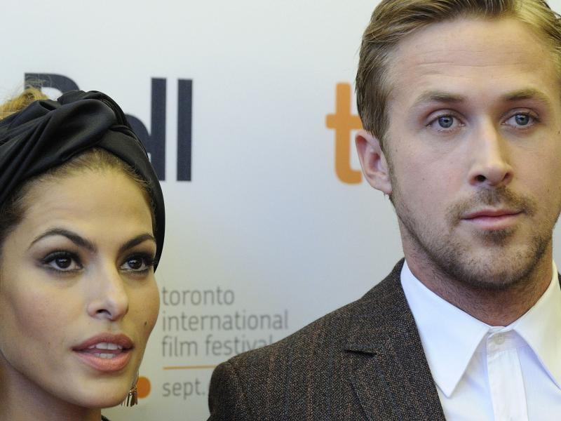 Eva Mendes e Ryan Gosling 2014 Ryan Gosling Eva Mendes on